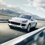 Porsche Cayenne S E Hybrid Showing at Paris Auto Show