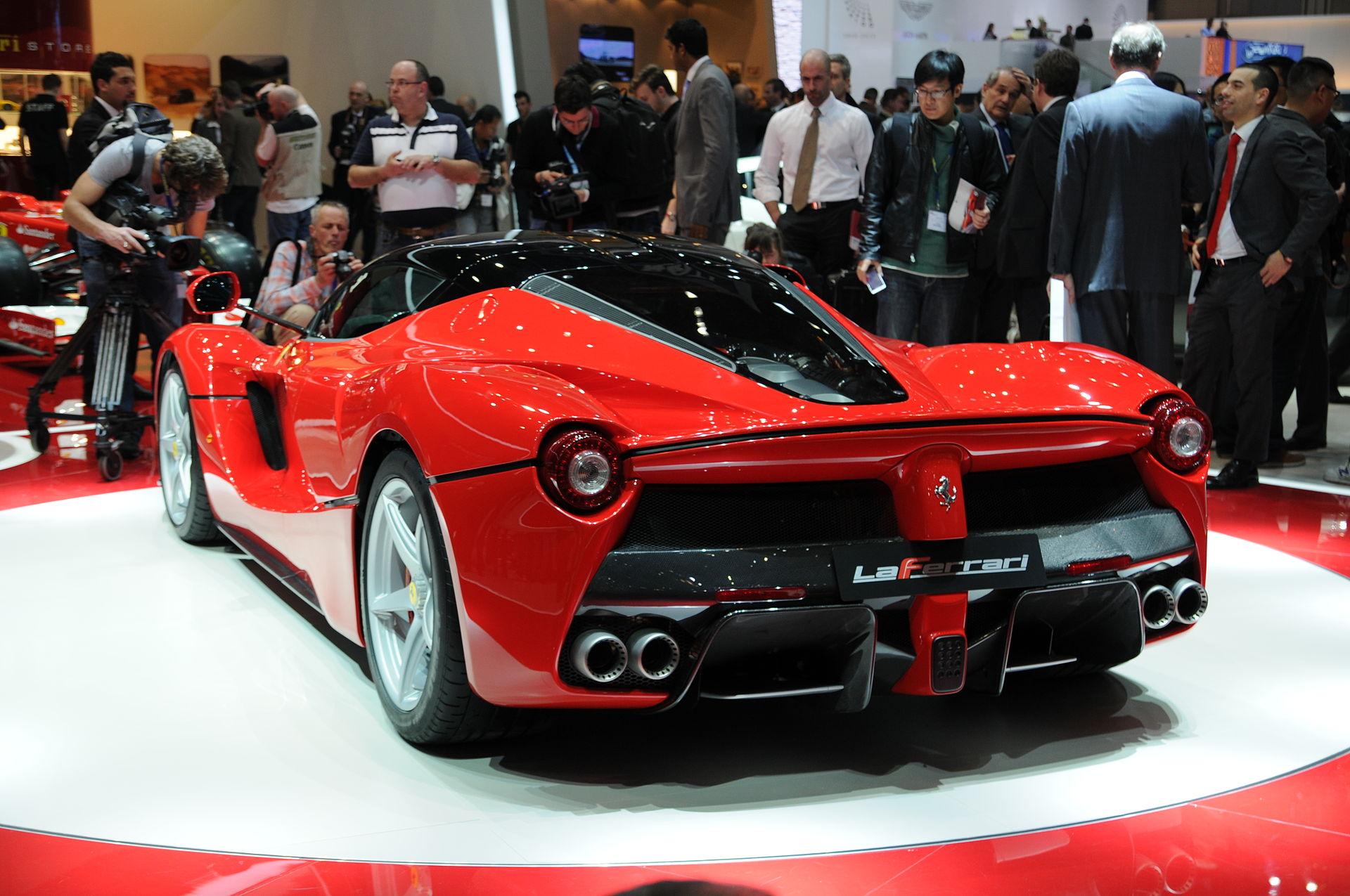 LaFerrari Hybrid Sports Car
