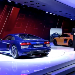 The Audi R8 E-Tron Revs Up the Geneva Auto Show! More to Come?
