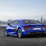 A Self Driving Audi R8 E-Tron Debutes at CES Asia!