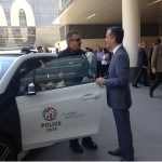 LAPD Takes Delivery of a BMW i3 and Tesla Model S!