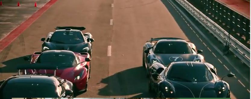 3 Electric Super Cars - McLaren P1, LaFerrari, Porsche 918