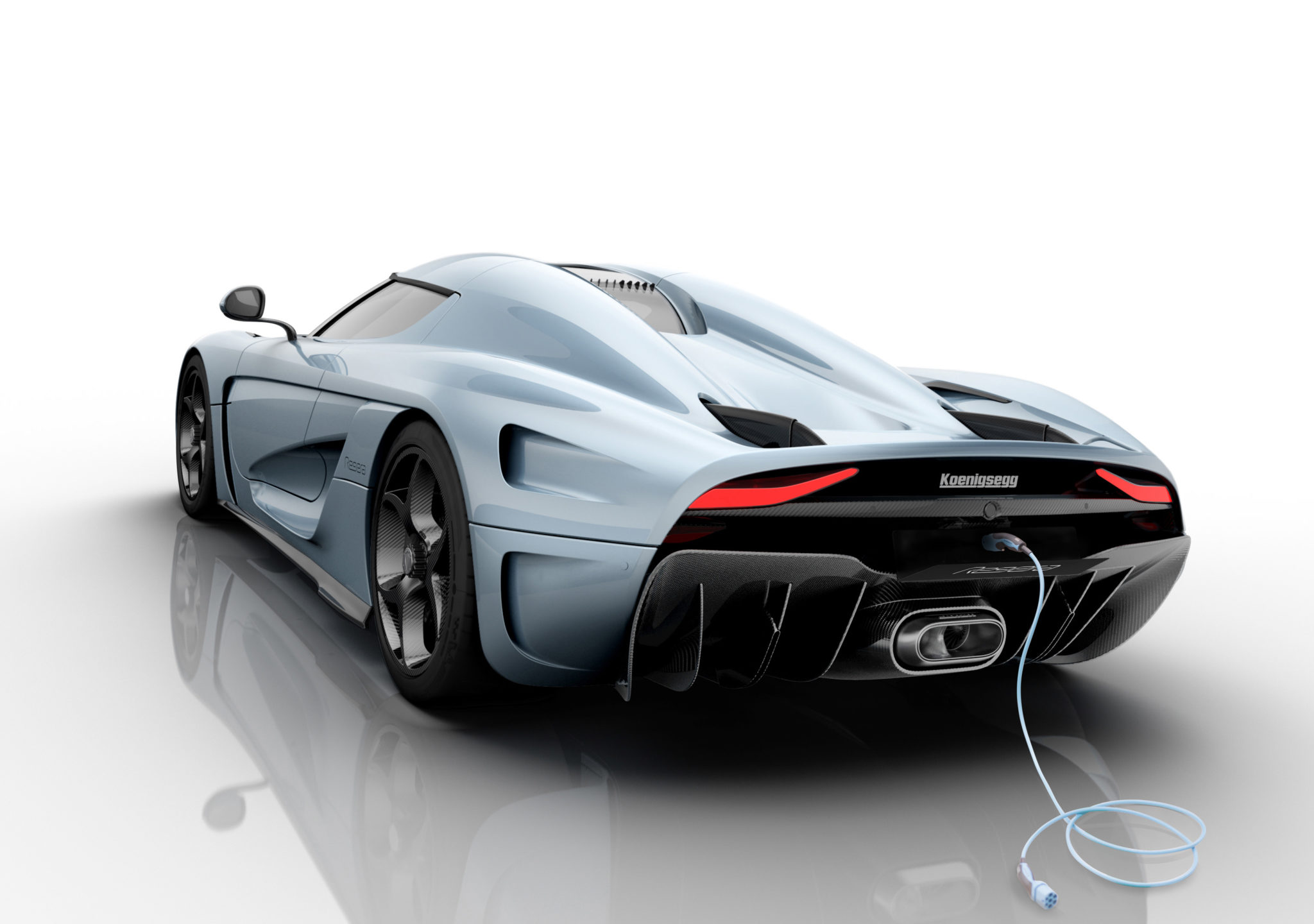 Koenigsegg Regera - Rear View