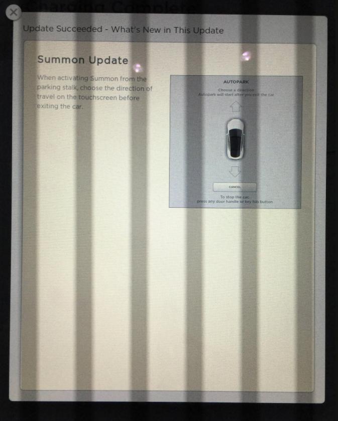 Tesla Auto Park Update Taken From http://imgur.com/0avvLuy