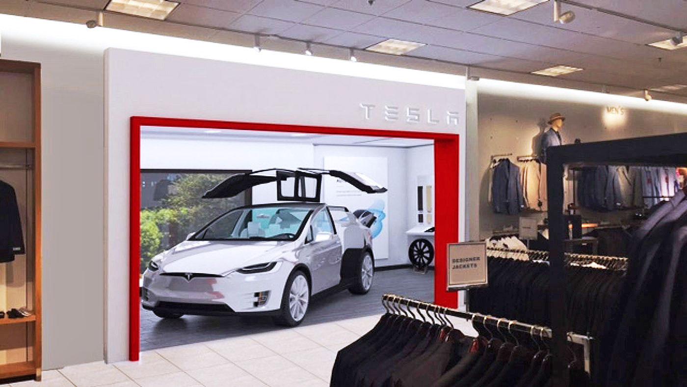 Nordstrom Tesla