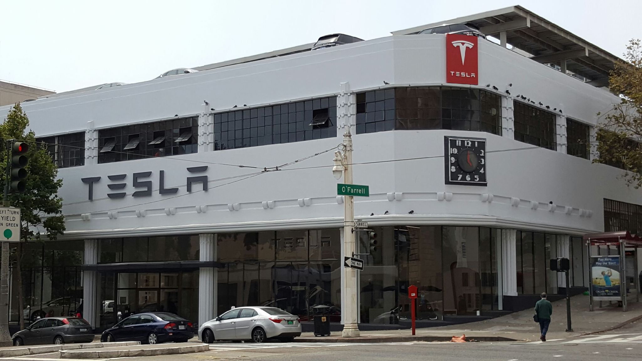 Tesla Charging Station Fees