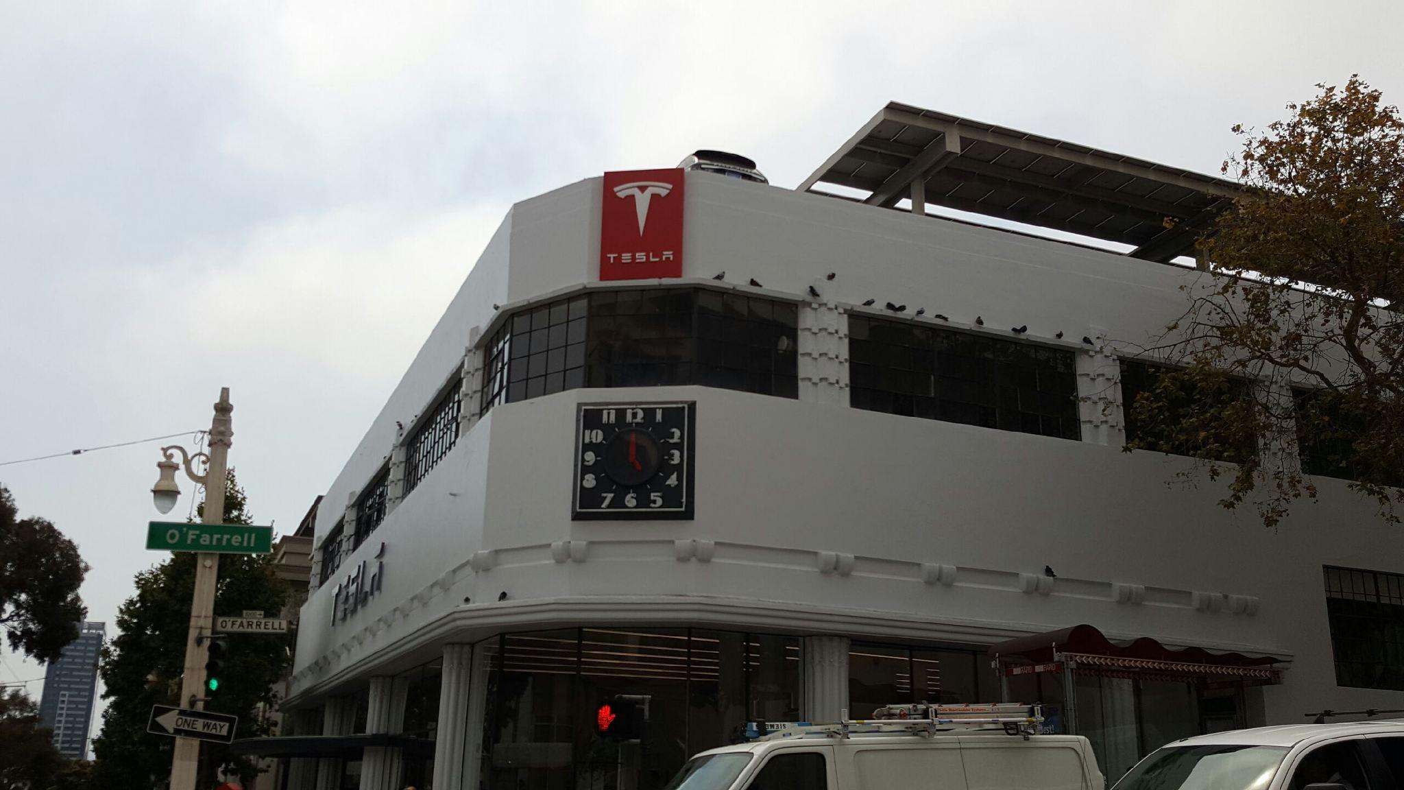 Tesla Flagship Store San Francisco