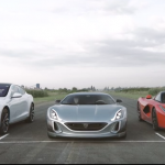 Ferrari - Rimac - Tesla: LaFerrari vs Concept One vs Model S P90D