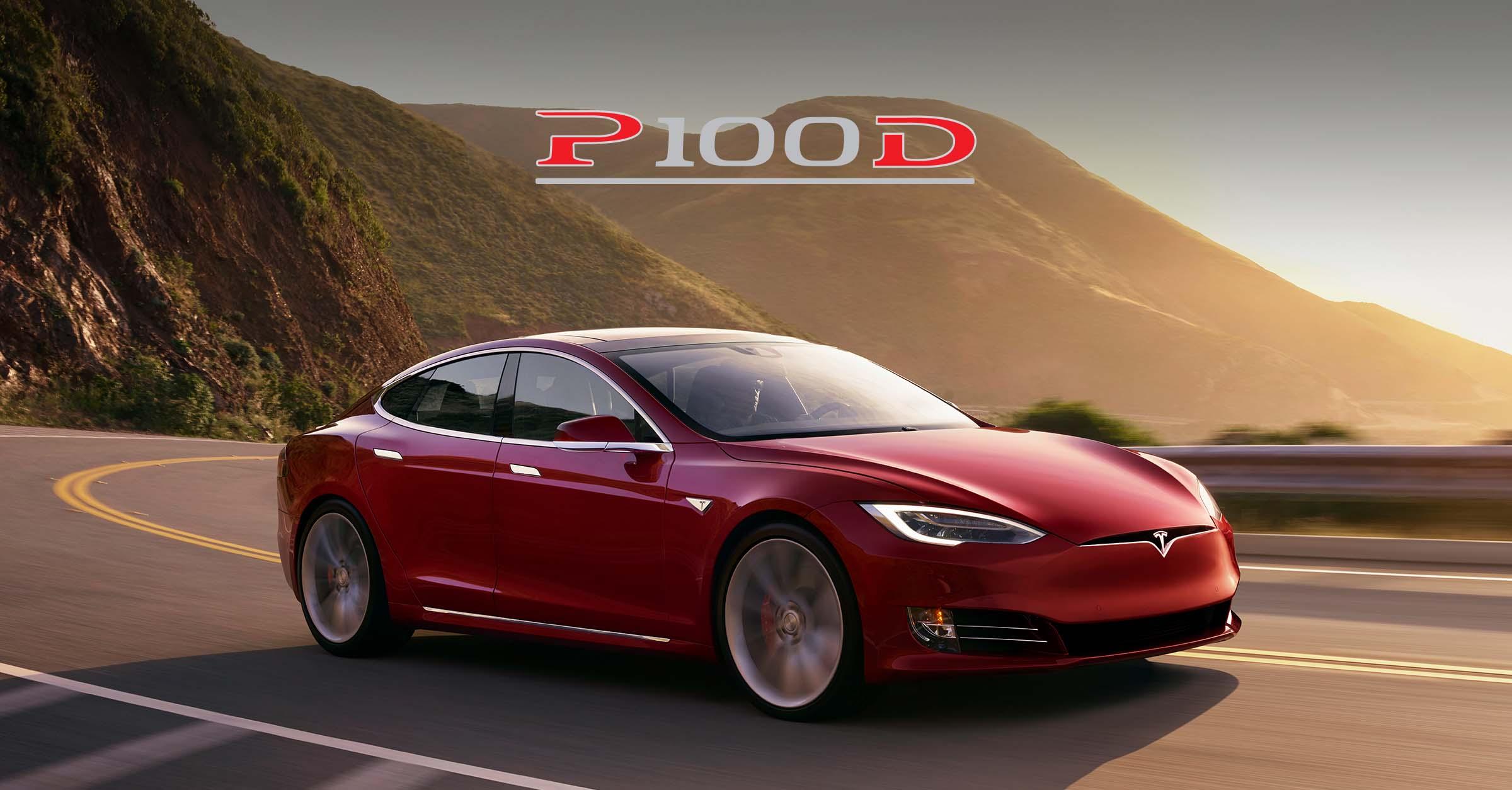 Compare EVs Tesla Model S P100D