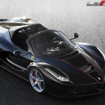 The LaFerrari Aperta Hybrid Supercar Debuts in Paris