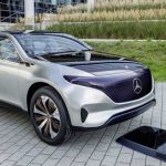The Mercedes-Benz Generation EQ Concept Car - 2016 Paris Auto Show
