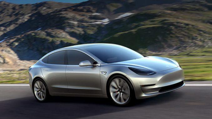 Model 3 Reveal
