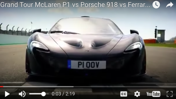 The Grand Tour With Jeremy Clarkson - McLaren P1