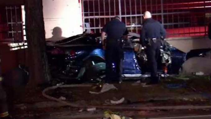 Tesla Model S Explodes