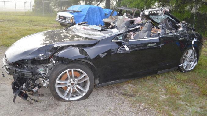 Fatal Tesla Model S Crash