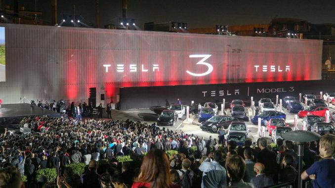 Model 3's Delivered