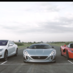 Rimac Concept One vs LaFerrari & Tesla P90D - Supercars Compete Off the Line