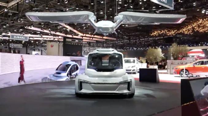 2018 Geneva Auto Show EVs