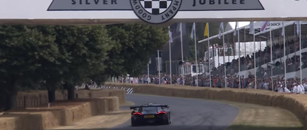 McLaren P1 GTR - 2018 FOS Festival of Speed