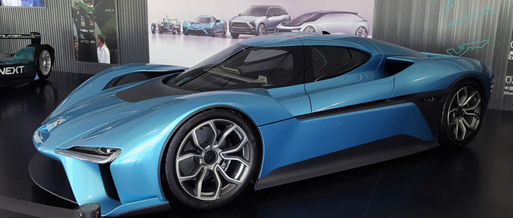Nio EP9 world's fastest car ev