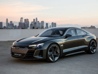 Audi E-Tron GT 2018 LA Auto Show