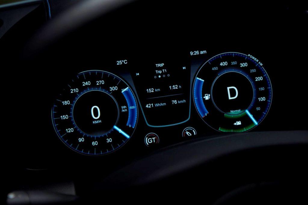 Aston Martin Rapide E Gauges Instruments