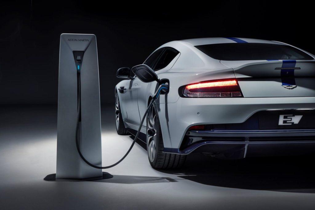 Aston Martin Rapide E Charging