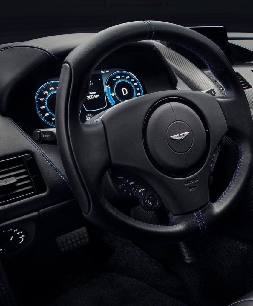 Aston Martin Rapide E Steering Wheel