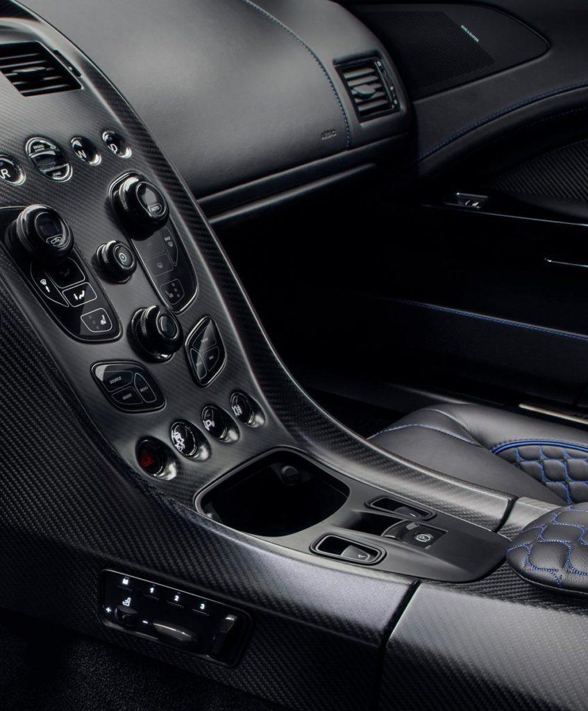 Aston Martin Rapide E Console