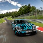 Porsche Taycan VS Tesla Model S - EV Racing Video