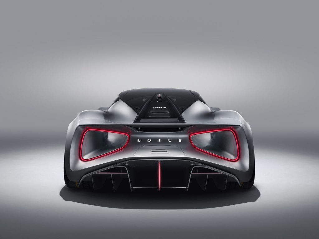 Lotus Evija Rear View