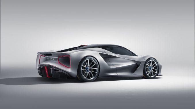 2020 Lotus Evija EV hypercar