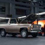 A 1977 Chevy Blazer EV? An Official Chevy Electric Engine Crate for 2021