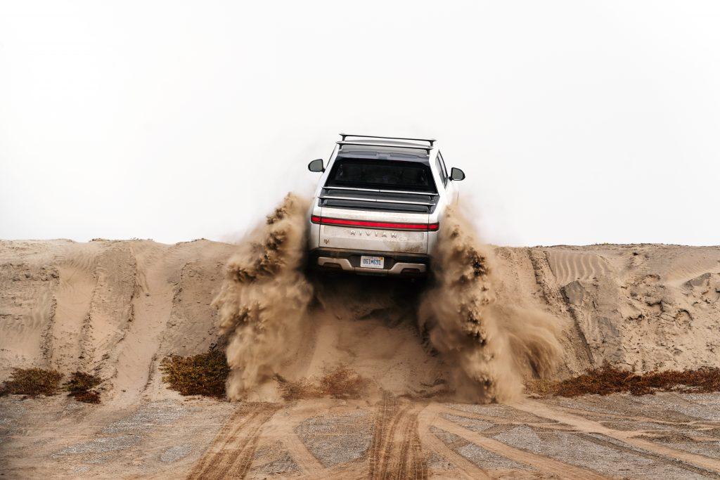 2021 Rivian R1T Truck EV - Sand Off-road