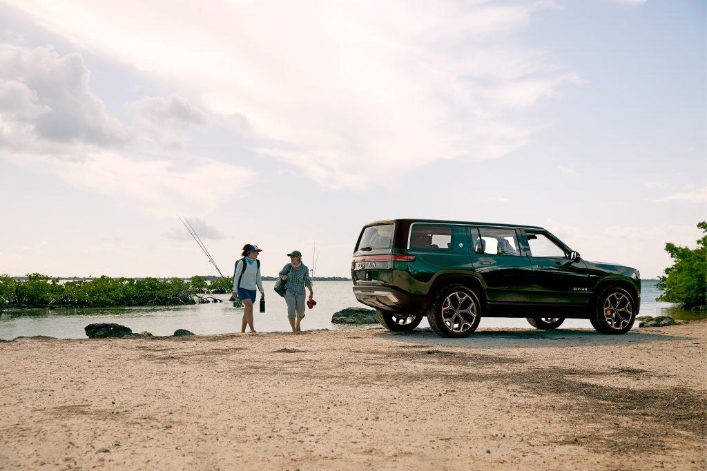 2021 Rivian R1S SUV - fishing adventure