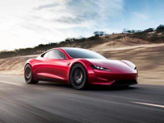2022 Tesla Roadster Rockets