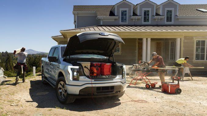 2022 Ford F-150 Lightning Work Truck
