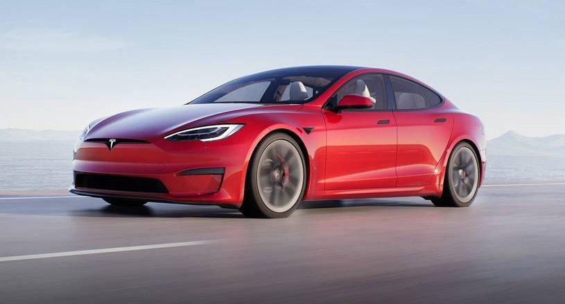 2021 Tesla Model S Plaid - Top 10 EVs of 2021